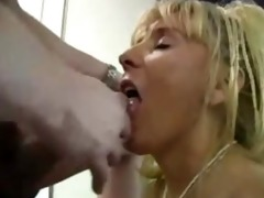 mature breasty cougar copulates younger guy