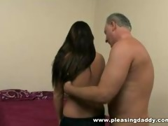 youthful doxy makes daddys fantasy come true