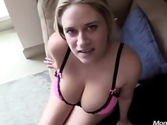 non-professional milf knows how to suck a ramrod