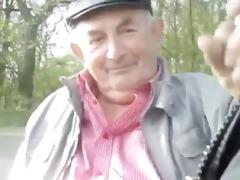 grandpa in park