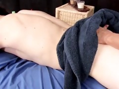 mom massaging youthful guy...f70