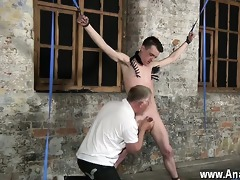 sexy homo sean mckenzie is bound up and at the