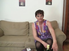 oldie enjoys unbending penis