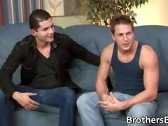 muscled studs fucking and jerking part1