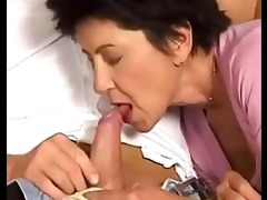 nephew catches his mature aunty very sexy and