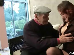 younger hotties share old pounder
