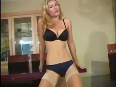 blonde milf joi and cei