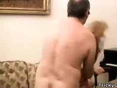outstanding coed tries wild sex with her teacher
