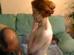 redhead schoolgirl and mature dude by snahbrandy