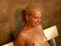 mature men with younger beauties - scene 1