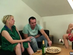 ramrod hungry mother-in-law seduces him
