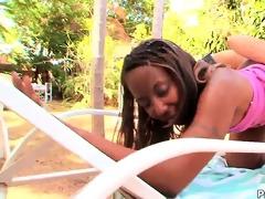concupiscent black mother ms. satin takeover