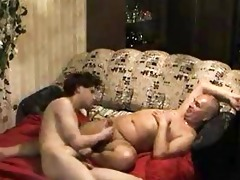 chubby homo dad receives awesome oral-job from