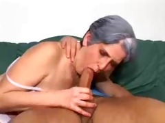 this granny desires a juvenile dick in her ass