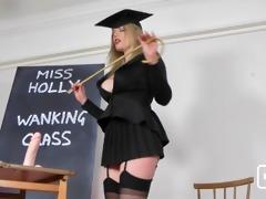 holly kiss jerk off class for bills hotties