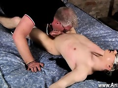 gay video a lil tickle castigation gets the fun