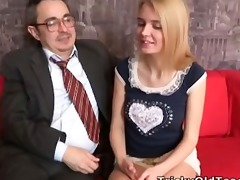 pervy old teacher gets it on with the gorgeous