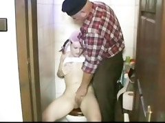old man fucks his own stepdaughter