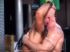 aaron receives flogged and jake gets drilled