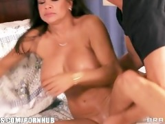 horny dark brown mom teri weigal has her juicy