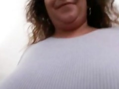 chunky old chick with big tits