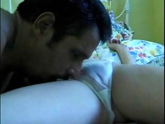 daddy sniffs not daughters pussy whilst wanking
