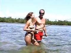 youthful sweetie fishing