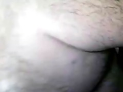 big curly mature dad bear wanks