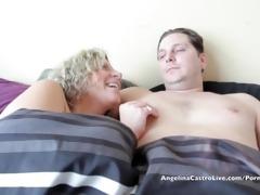angelina castro & sara jay fucking huge white