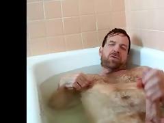 hot daddy in the bath