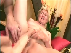 monica: big youthful cock and one dildo for the