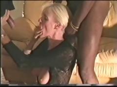 older wife copulates hung dark man