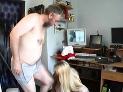 old man fucks juvenile blonde