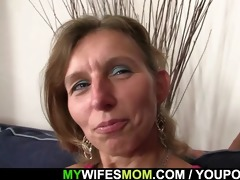 daughter watches hubby fuck her mommy