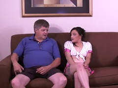 evie thalia - old penis in my ass!