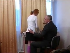 old chap have sex with young cutie - part 1