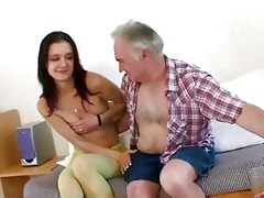 old dude seducing young girl