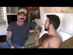 hot real guys doing serious gay job
