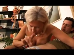 hot golden-haired italian mother