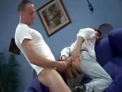 hung daddy in possession of tight creampie hole