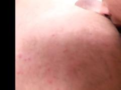ass drilling - gals licking old dude butt