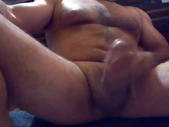 large muscled daddy bear