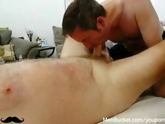 big bear cock receives sucked with enjoyment