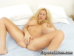 huge tits mom in thong fingering her part3