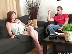 he is fucks his old mother in law and gets busted