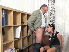 lusty doggy position drilling
