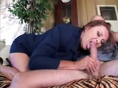 nice-looking anastasia sands enjoying nice knob