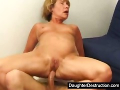 daughter assaulting