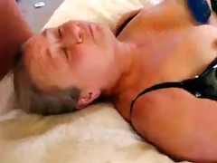 stolen video. daddy cumming on face of mamma
