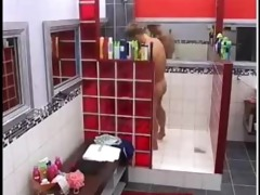 hot b brother chap shower and jerk